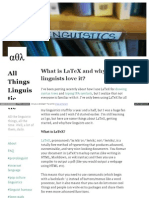 Allthingslinguistic Com Post 50042310246 What is Latex and w