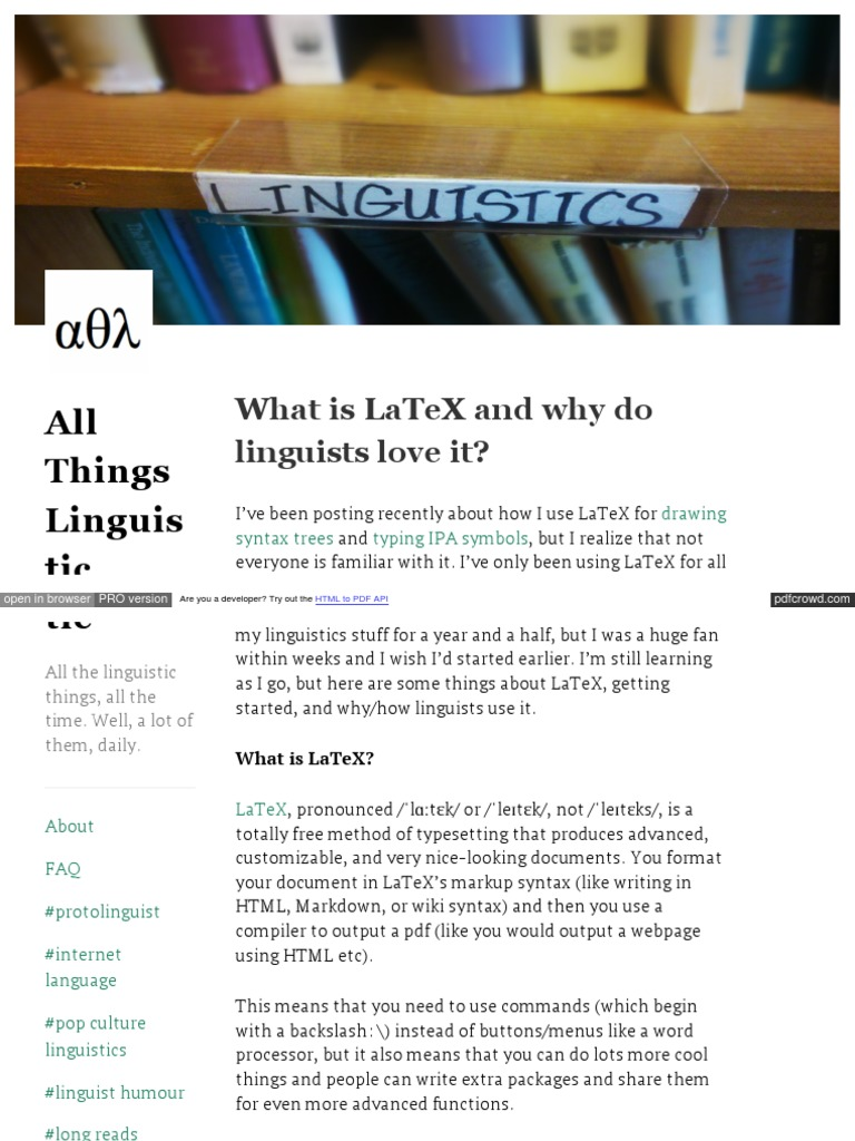 Allthingslinguistic Com Post 50042310246 What Is Latex And W Text