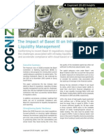 The Impact of Basel III on Intraday Liquidity Management