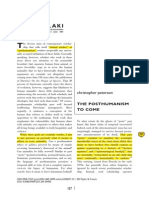 Peterson - the Posthumanism to Come.pdf