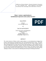 White Paper on Chinese Venture Cap