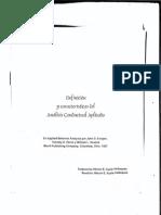 Definicion y Caracteristicas Del Analisis Conductual Aplicado
