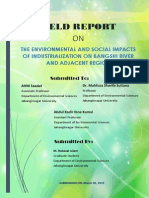 Social and Environmental impacts of industrialization on Bangshi River and adjacent area