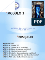 Santidad Mod.3