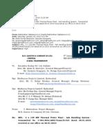 E Mail Dastur Comments 11.01.10