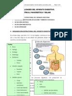 Secreciones del aparato digestivo
