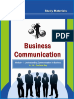 General Comm and Business Comm