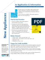 Appliance Rebate Application Web