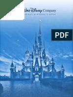 Disney CR Report 2008