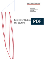 """Putting the """"Strategic"""" Back Into Sourcing"""