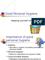 Staff Training Slideshow 4- Hygiene