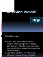 Pengembangan Handout
