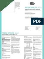 Ardex Wpm 155 Datasheet