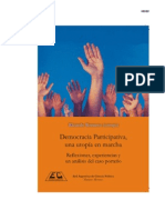 Democracia Participativa Una Utopia en Marcha eBook
