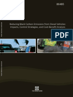 Reducing Black Carbon Emissions from Diesel Vehicles