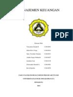 Manajemen Keuangan - Penganggaran Modal