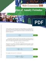 Web Extension 28B - Derivation of Annuity Formulas