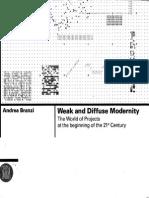 Andrea Branzi - Weak and Diffuse Modernity