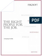 PT Fircroft Indonesia - Company Profile