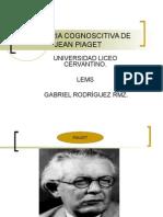 La Teoria Cognoscitiva de Jean Piaget
