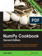 NumPy Cookbook - Second Edition - Sample Chapter