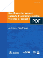 Clinical Handbook IPV and SV