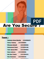 Are Secure ??? introduction