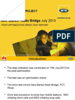 New Banex- Kado Bridge Post-Optimization Complaint DT Report_14.07.2013.pptx