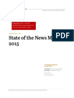 Pew Research State of the News Media 2015