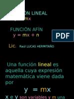 FUNCION LINEAL Y AFIN.pptx