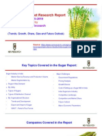 Market Research - India Sugar Industry to 2019