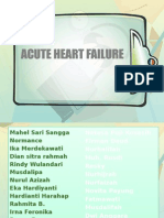 Acute Heart Failure1