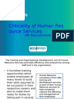 HR Recruitment - HR Audit Services
