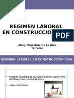 Regimen Laboral en Construccion Civil - 1