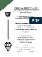 Proyecto de Investigacion CD