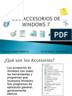 Los Accesorios de Windows 7
