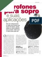 Microfones Para Sopro