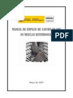 Manual Empleo Caucho en Mzclas Bituminosas