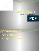 Capítulo 1 - Energía y Fuentes de Energía