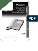 Panasonic Phone Kx t2378jxw