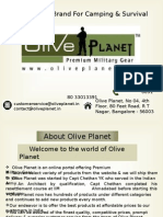 Olive Planet 2Olive Planet - Well Known Brand For Camping & Survival Gears Online India