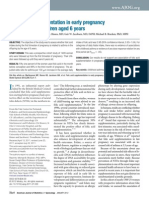 Folic Acid Supplementation in Early Pregnancy