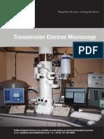 Transmission Electron Microscopy Print