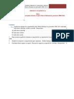 Proiect Statistica MAC 2013 MODEL