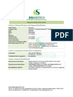 MSDS Report from SS Agrotech – Guar Gum manufacturer