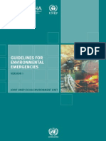 Guidelines for Environmental Emergencies