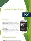 lo1 - radio drama evaluations