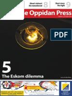 The Oppidan Press - Edition 4 - 2015