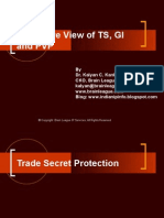 Presentation on Bird's Eye View of TS, GI and PVP