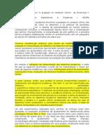 Resumo Do Texto Projeção No Contexto Clinico